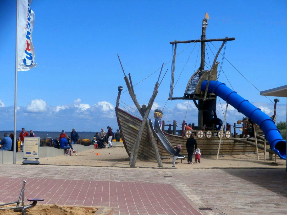 Spielplatz am Strand in Döse