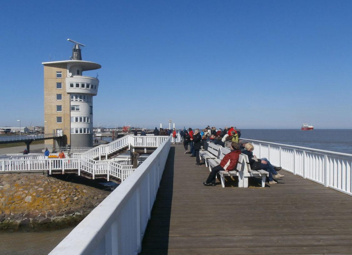 Cuxhaven Elbemündung