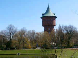Der Wasserturm in Cuxhaven